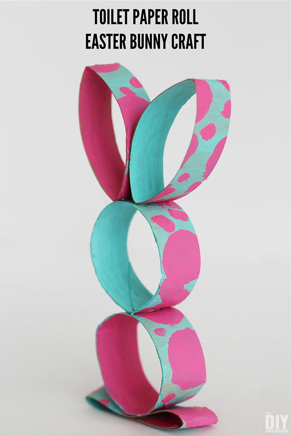 Toilet Paper Roll Easter Rabbit