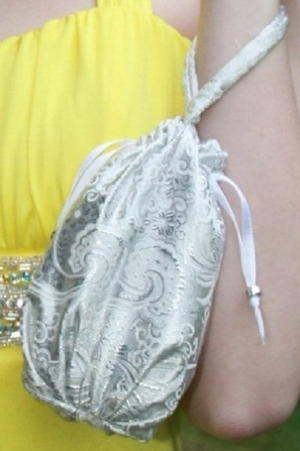 Fancy Drawstring Wristlet