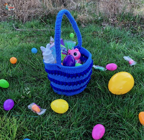 Easy Crochet Easter Basket