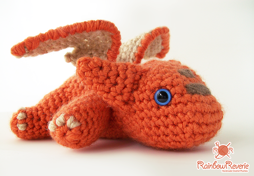 Baby Dragon Amigurumi Pattern