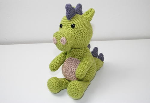 Friendly Amigurumi Dragon Pattern