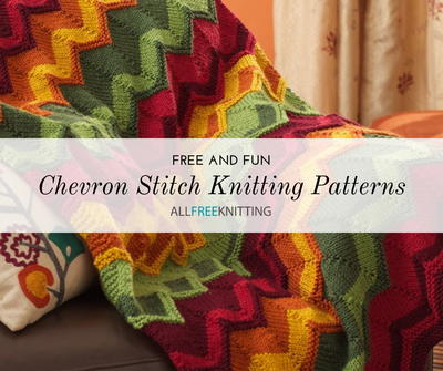 e3bcfe9df332 25 Free Chevron Stitch Knitting Patterns