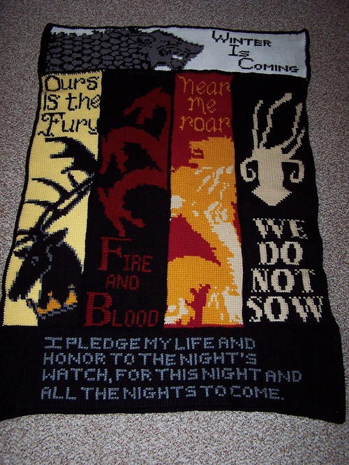 GoT House Banners Blanket