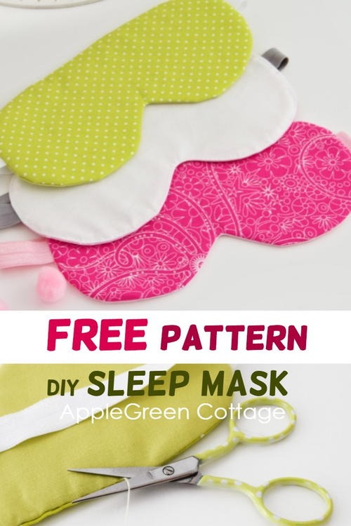 My Best FREE Sleep Mask Pattern