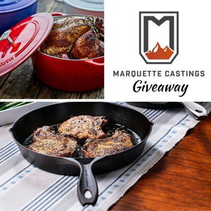 Marquette Castings Cast Iron Cookware Giveaway