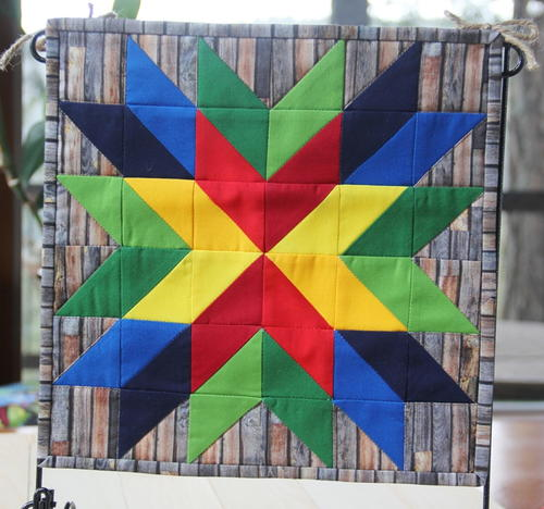 Mini Barn Star Quilt