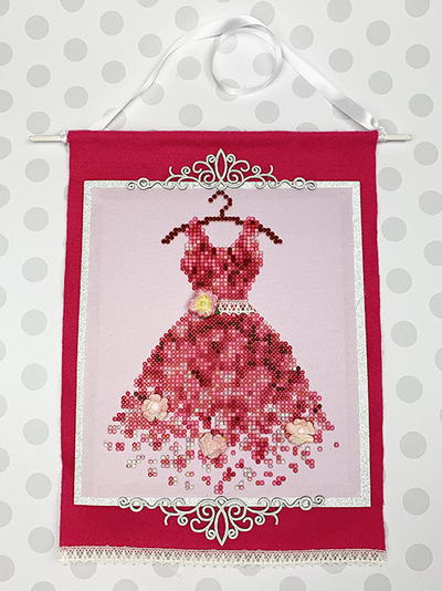 Princess Dress Wall Hanging