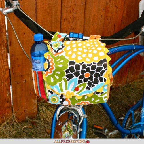 DIY Bike Handlebar Bag