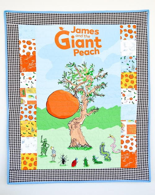 James and the Giant Peach Panel Quilt Pattern