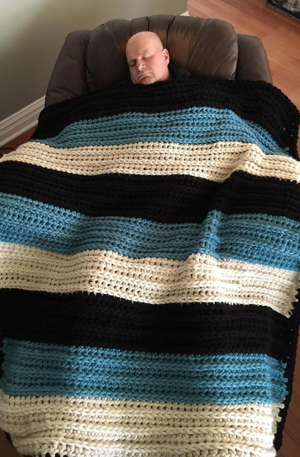 Big Man's Weighted Blankie