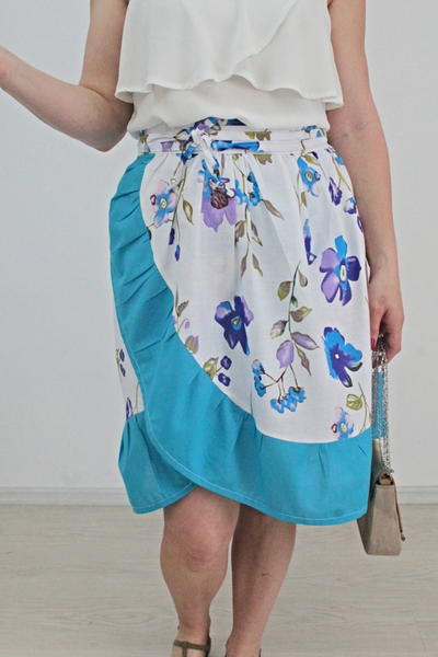 DIY Wrap Skirt