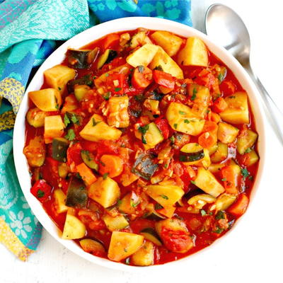 Zucchini Stew with Potatoes