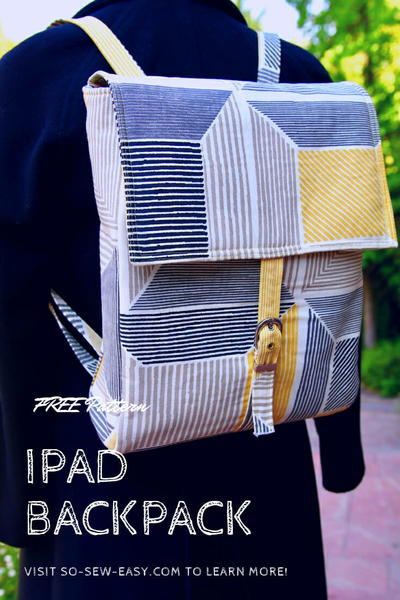 Easy IPad Backpack Pattern  Tutorial