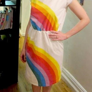 Rainbow Pillowcase Sundress Part 1