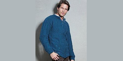 0b61f0595 Free Classic Mens Cardigan Knitting Pattern