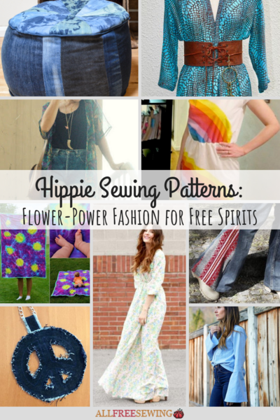 30 Hippie Sewing Patterns Flower-Power Fashion for Free Spirits