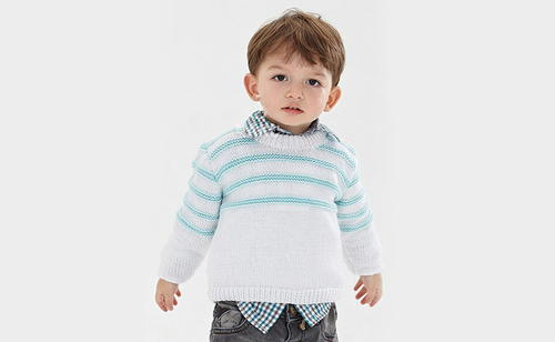 Free Child's Easy Sweater Knit Pattern