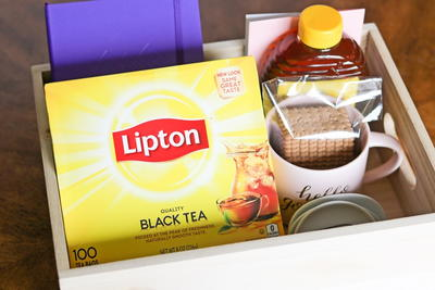 DIY Tea Time Gift Basket for Tea Lovers