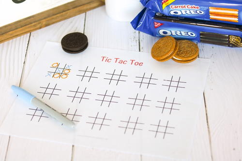 photograph relating to Free Printable Tic Tac Toe Board known as Printable Tic Tac Toe Sport Board