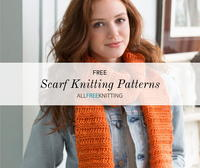 40+ Free Scarf Knitting Patterns