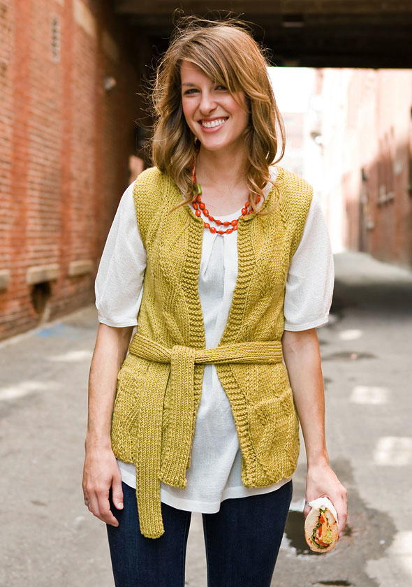 Bedford Yellow Cardigan