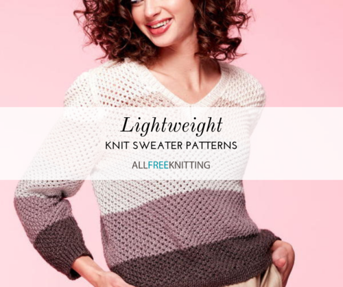 Lightweight Knit Sweater Patterns