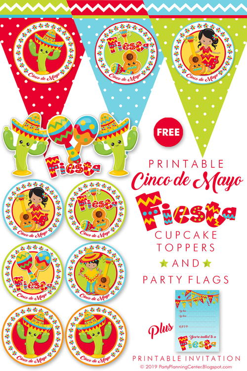 graphic relating to Printable Decorations called Printable Cinco De Mayo Decorations