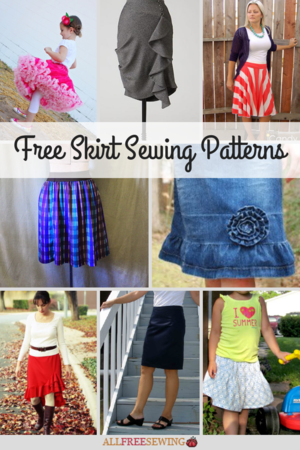 35+ Free Skirt Sewing Patterns