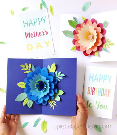 Petal Perfection DIY Mothers Day Card