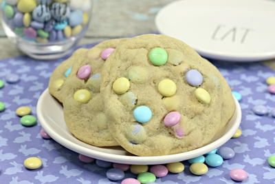 Jumbo MM Easter Cookies