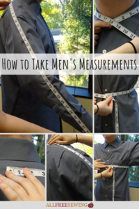 How to Take Men's Measurements