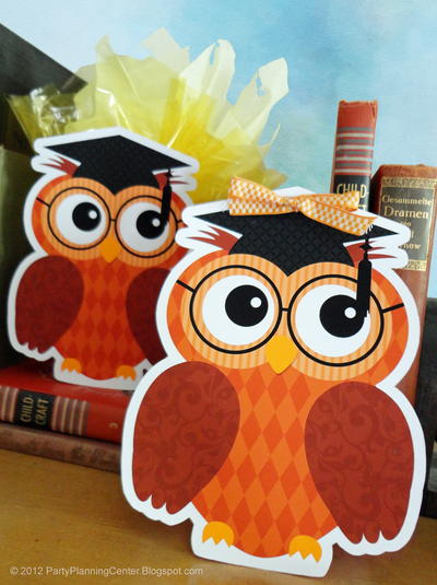 Graduation Owl Gift Bags