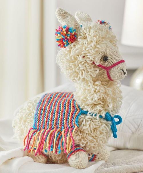 Alpaca Amigurumi Free Crochet Pattern | 605x500