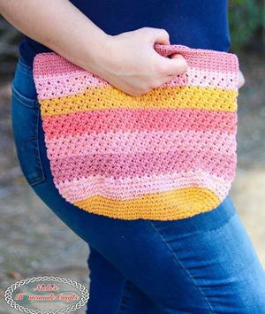 Trinity Stitch Crochet Bag