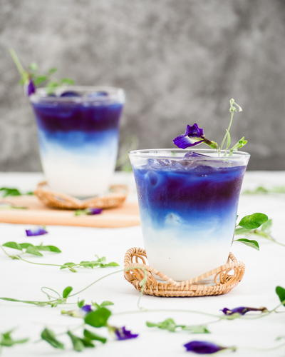 Butterfly Pea Milk