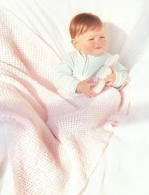 Blush Baby Blanket Knitting Pattern