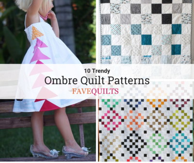 Ombre Quilt Patterns