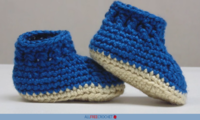 Adorable DIY Baby Booties (Free Crochet Pattern)