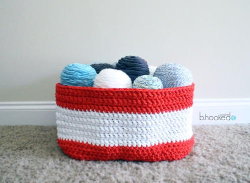 Bulky Stash Basket