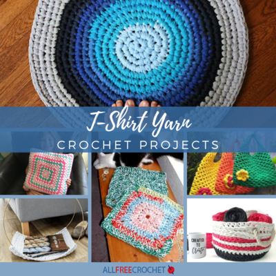 28 T-Shirt Yarn Crochet Projects