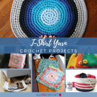 28+ T-Shirt Yarn Crochet Projects