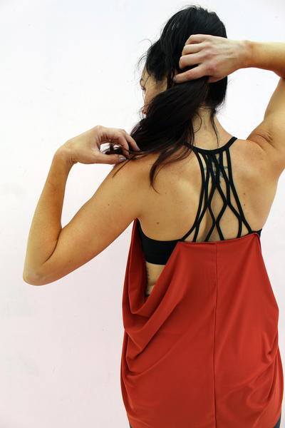 Diy Workout Tank from a Recycled Sportsbra