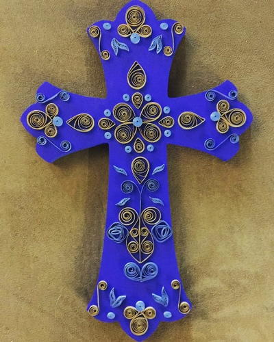 Prettiest Paper Quilled Cross