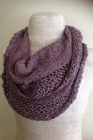 Burnished Rose Infinity Scarf