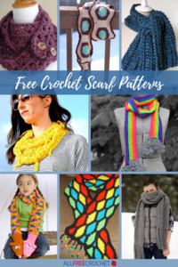40+ Free Crochet Scarf Patterns