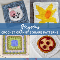 32+ Gorgeous Crochet Granny Square Patterns