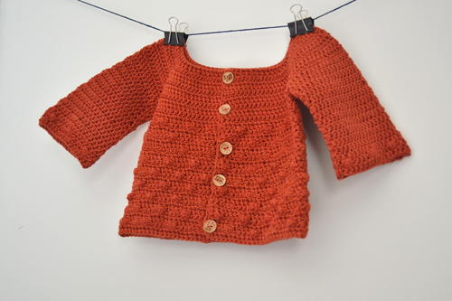 Bubbly Baby Cardigan