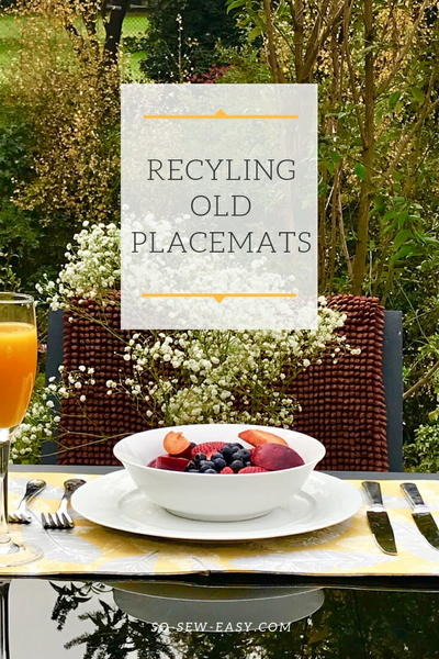 Recycling Old Placemats