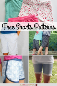 40+ Free Shorts Patterns (to Sew)