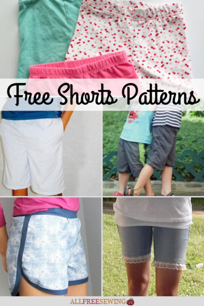 40 Free Shorts Patterns to Sew
